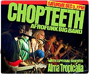 Chopteeth, 2011 Winter Tour