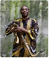 Femi Kuti, No Place For My Dream (Knitting Factory Records)