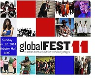 globalFEST 2014, Webster Hall (NYC)