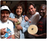 Global Drum Project, 2008 Tour