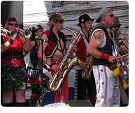 MarchFourth Marching Band, Rise Up, 2009 Tour
