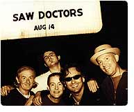 The Saw Doctors, August 2010 Tour